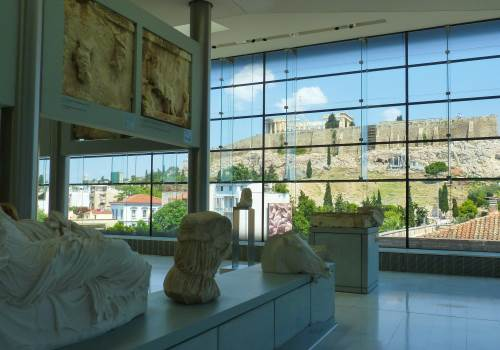 Athens sightseeing and Acropolis museum tour