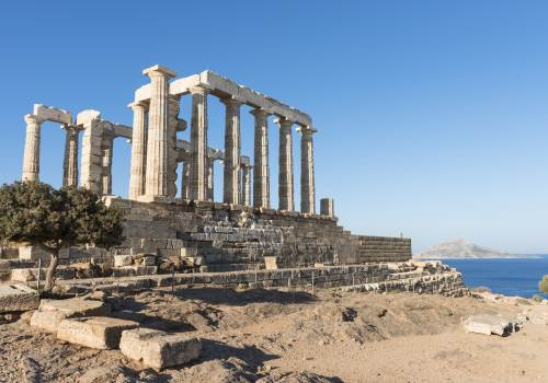 Athens city and Cape Sounion tour