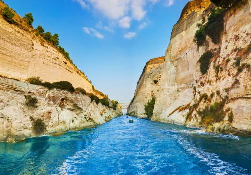 Athens sightseeing and Corinth canal tour