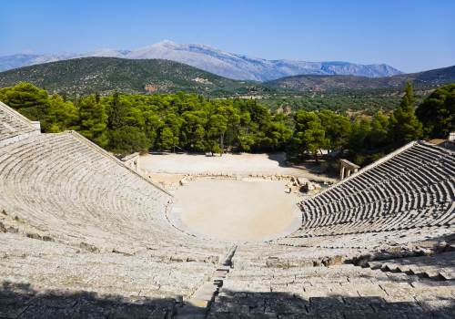 Argolis, Ancient Olympia and Delphi tour
