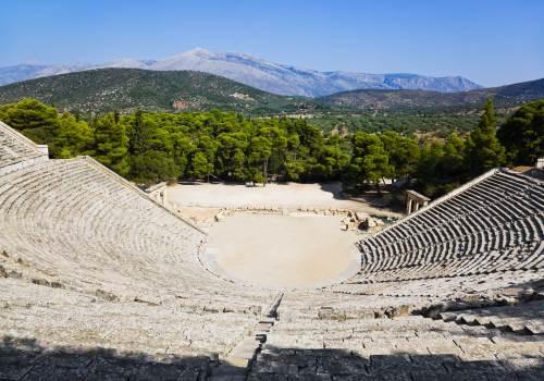 Argolis, Ancient Olympia and Delphi tour
