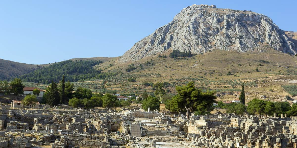 Athens, Canal of Corinth and Ancient Corinth